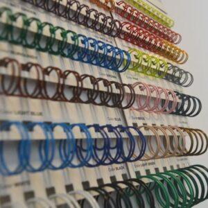 Spirale metalice debitate la dimensiune